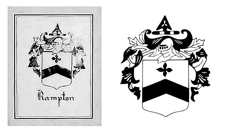Rampton Family Crest Restoration - Bea + Elle