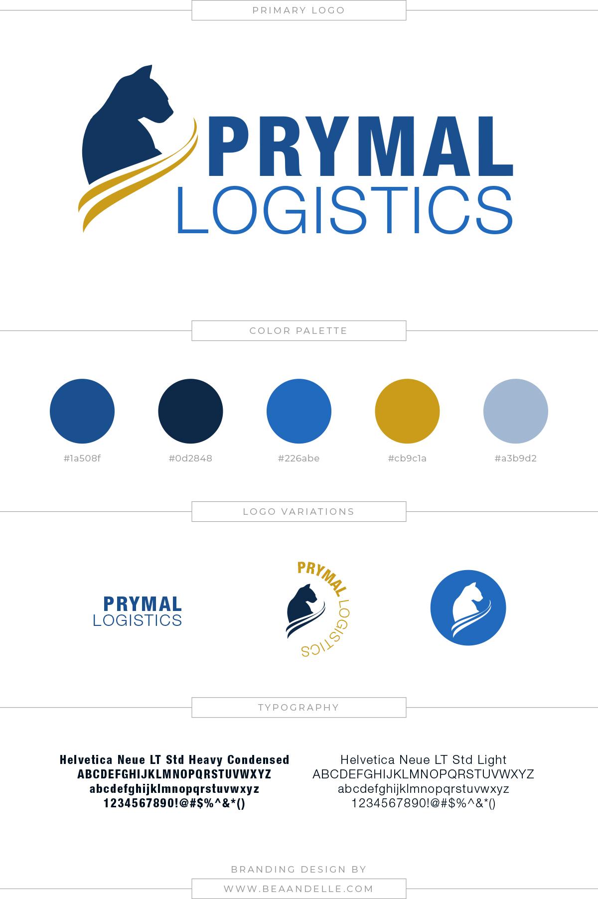 Prymal Logistics mood board