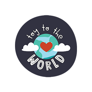 Bea + Elle - Toy to the World Logo